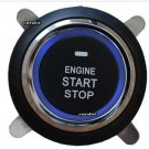 New keyless entry start stop button ACC press in wire start wire back light wire