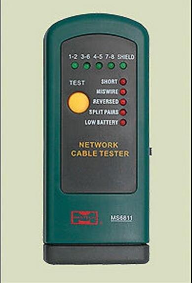 Portable Mini Hand Held Remote Check Network Lan Cable Wire Tester Checker