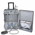 Dental Ultrasonic Scaler LED Curing light Portable Unit w/ Air Compressor 2/4H