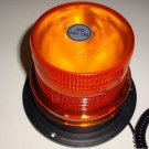 "Bright 4.1"" Magnetic Emergency LED Waterproof Strobe Light Amber Base Auto Light"