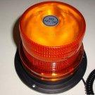 "Bright 4.1"" Magnetic Emergency LED Waterproof Strobe Light Amber Base Auto Light"