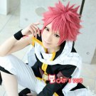 Fairy Stylish Goblin Tail Natsu Dragneel Cosplay Cos Play Pink Wig Wigs