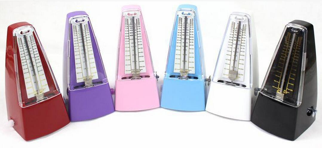 Mechanical Metronome for Playing Play Guitar Piano Violin with Metal Movement