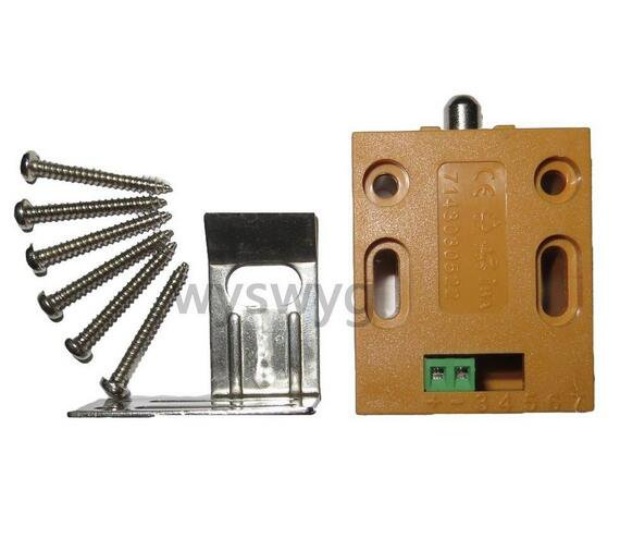 Mini Latch Electric Drawer deadbolt Cabinet Lock DC 12V Small Locker Fail Secure
