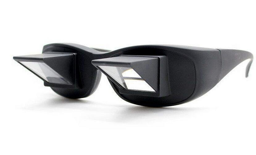 Lazy Glasses 90 degrees Periscope Horizontal Readers Watch TV as you Lie in Bed