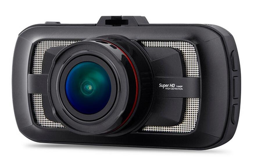 "New 3.0"" Big LCD Ambarella Motor Car Dash Camera DVR 1440P HDR GPS Speed Limit"
