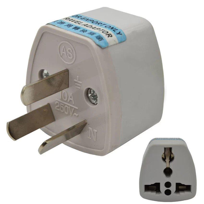 3 Pin AU US UK EU to AU Australia Travel Travelling AC Power Plug Adapter
