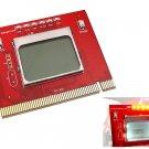 BIOS CPU RAM Test PCI PC Computer Analyzer Tester Diagnostic Card LCD Display
