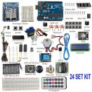 Starter basic 24 Kit with Tutorials For Arduino Beginner Uno R3 Mega 2560 Nano Leonardo