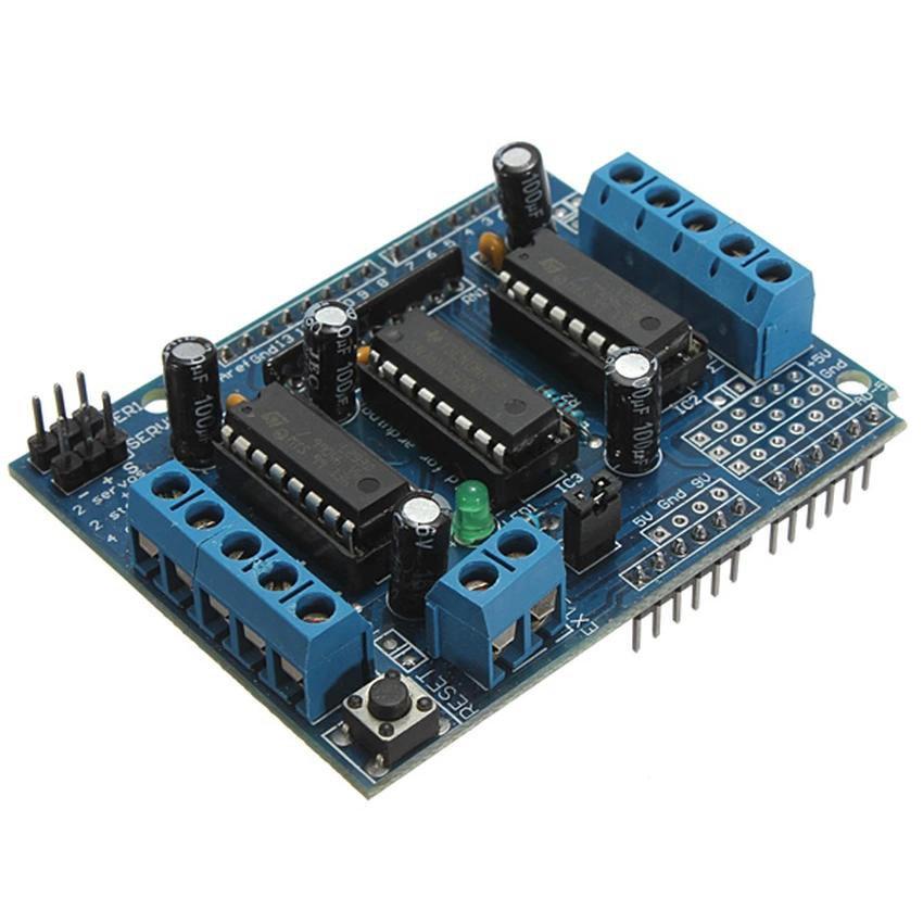 Motor Drive Shield Expansion Board Module L293D For Arduino Duemilanove Mega UNO