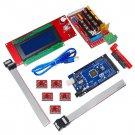 3D Printer Controller RAMPS 1.4 Mega 2560 R3 5x A4988 2004 LCD Controller for Arduino RepRap