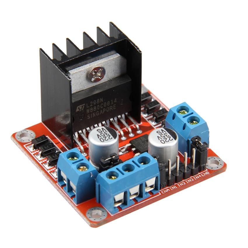 5x Dual H Bridge DC voltage Stepper Motor Drive Controller Board Module Arduino