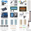 New Starter Beginner Kit Compatible Breadboard Component Module LCD UNO R3 For Arduino