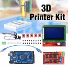 LCD 12864 RAMPS 1.4 Mega 2560 5x A4988 Stepper Driver 3D Printer Kit for Arduino