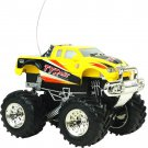 4Ch Remote Control High Speed Electric RC Car 1:43 Off-Road Vehicle Model Yellow