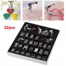 Presser Foot Feet For Brother Singer Domestic Sewing Sew Machine Part Tool Kit