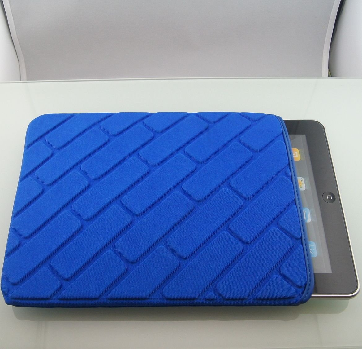 Sharp Blue color Waterproof Soft Sleeve Bag Case Cover Pouch for Apple Ipad 3 4