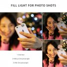 LED Selfie Flash Phone Camera Cam Ring Light For iPhone 6S PLUS HTC LG Samsung