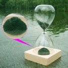 Creative Iron Magnet Hourglass Hour Glass Transparent Green Color Time Timer