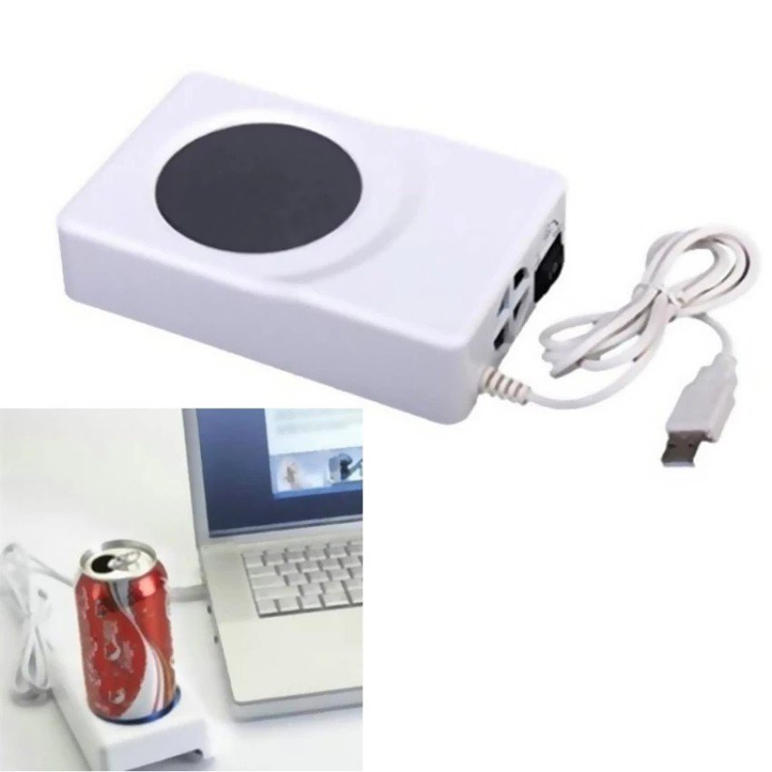 Dual Use Cool USB Cooler Warmer Cup Coffee Tea Beverage Can Cans Cooler & Warmer
