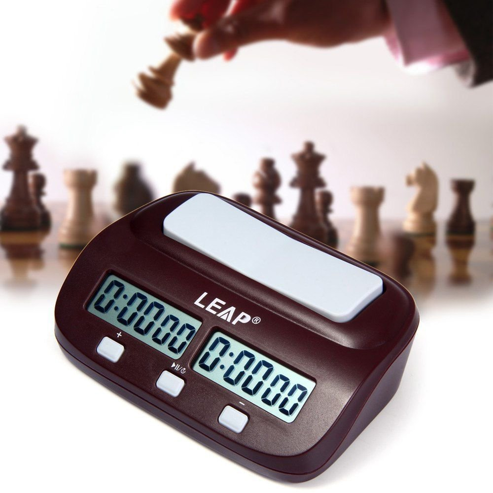 Digital Chess Clock I go Time Count Up Down Timer for Game Games Competition