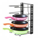Simple Houseware Kitchen Cabinet Pantry Pan and Pot Lid Organizer Rack Holder