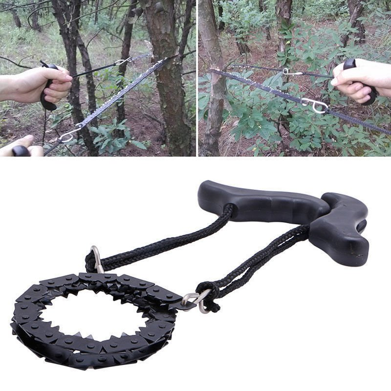 Cool !!! Tree Saw Chain Light Weight Small Portable Easy Carry Cut Wood Work