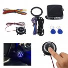 Auto Motor Car Engine Push Button Start Stop RFID Ignition Switch Keyless Entry
