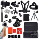 43in1 Chest Mount Strap Pole Tripod Holder for Gopro Hero Camera Accessories Kit