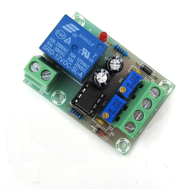 3 pcs Battery Charger Power Relay Control Board DC 12V Automatic Control Board