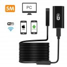 Android iPhone 5M WIFI Leakage Inspection Camera Endoscope Waterproof Borescope
