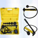 10 Ton Tons 6 Die Hydraulic Knockout Punch Driver Kit Hole Hand Tool Conduit
