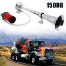 150DB 12V Single Trumpet Air Horn Powerful Loud Compressor For Truck Train Boat