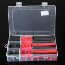 270 Pcs Heat Shrink Wrap Wire Tube Cable Tubing Dual Wall Adhesive Lined 3:1 Set