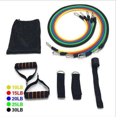 Gym Door LOOP Fitness Yoga Rope 5 Resistance Band for Strength exercise Keep fit