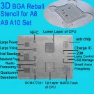 BGA Reballing Stencil Solder CPU IC Chip Tin Template for iPhone A8 A9 A10 A11