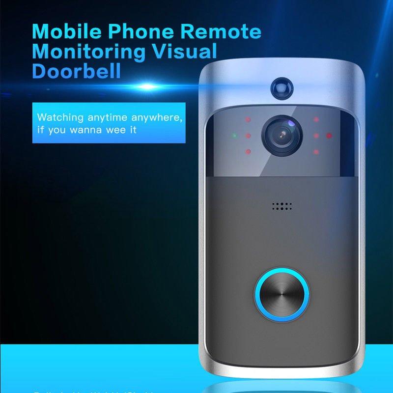 Home Security Wireless Smart WiFi Door Ring Doorbell Video Camera Bell Intercom
