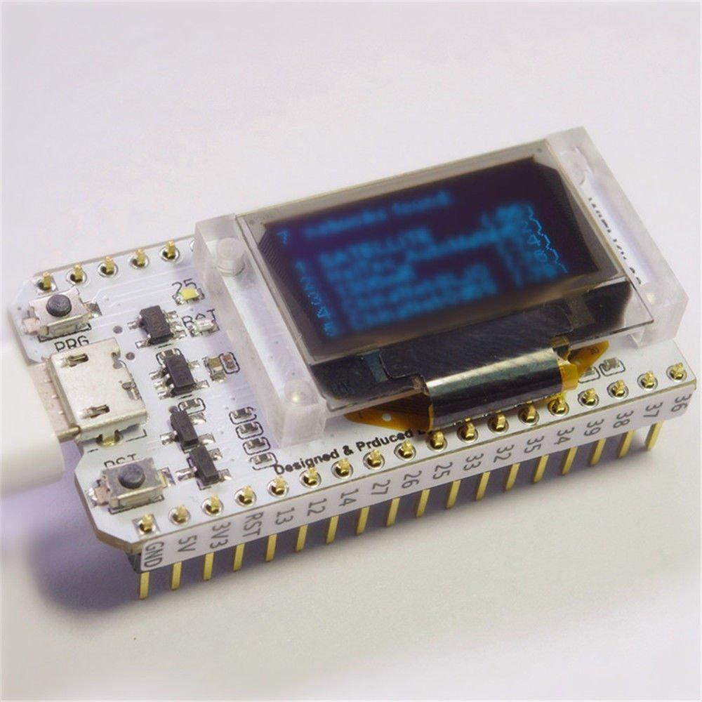 "ESP32 LoRa WIFI Bluetooth Development Board OLED 0.96"" Display IOT Kit Module"