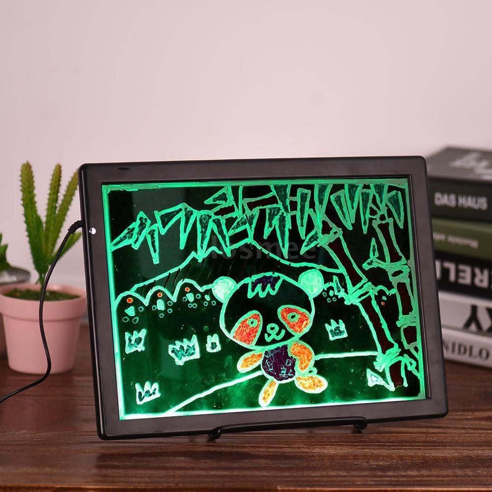 Home Digital USB Drawing Tablet Color Pen Writing Pad NotePad Handwriting Board