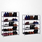 7 Multi Tiers Shoes Shoe Shelf Storage DIY Metal Rack Holder Household Stands