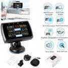 OBD2 Code Reader HUD Head Up Display Monitor Fuel Speedometer Water Temp Tool