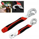 Self Adjustable Pipe Spanner Universal Wrench Quick Multi-function Grip 9-32mm
