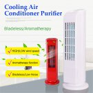 Mini Portable USB Cooling Air Conditioner Purifier Tower Bladeless Desk Room Fan