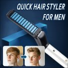 New Electric Comb Brush Curling Hair Straightener For Men Style Hair Hairstyling