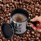 AUTOMATIC FUNNY SELF STIRRING ELECTRIC COFFEE TEA MIXING MUG Stainless Steel