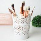 3 pcs Make Up Brush Holder Pot Storage Candle Stationary Pen Pencil Holder Pot