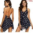 Women Tankini Swim Swimming Dress Swimsuit Beachwear Swimwear Bikini Plus Size
