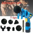 Handheld Health Deep Tissue Muscle Massage Body Vibration Therapy Sport Recovery