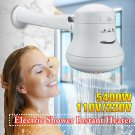 Electric Shower Head Temperature Instant Hot Water Mode Heater Bath Hose Bracket