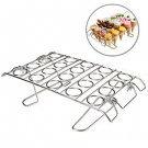 Cupcake Sushi Cone Baking Rack Ice Cream Maker Cone Stand Holder Stainless Steel